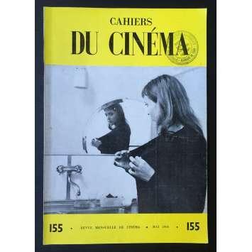 LES CAHIERS DU CINEMA Magazine N°155 - 1964 - Fritz Lang