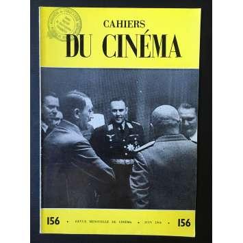 LES CAHIERS DU CINEMA Original Magazine N°156 - 1964 - Anna Karina