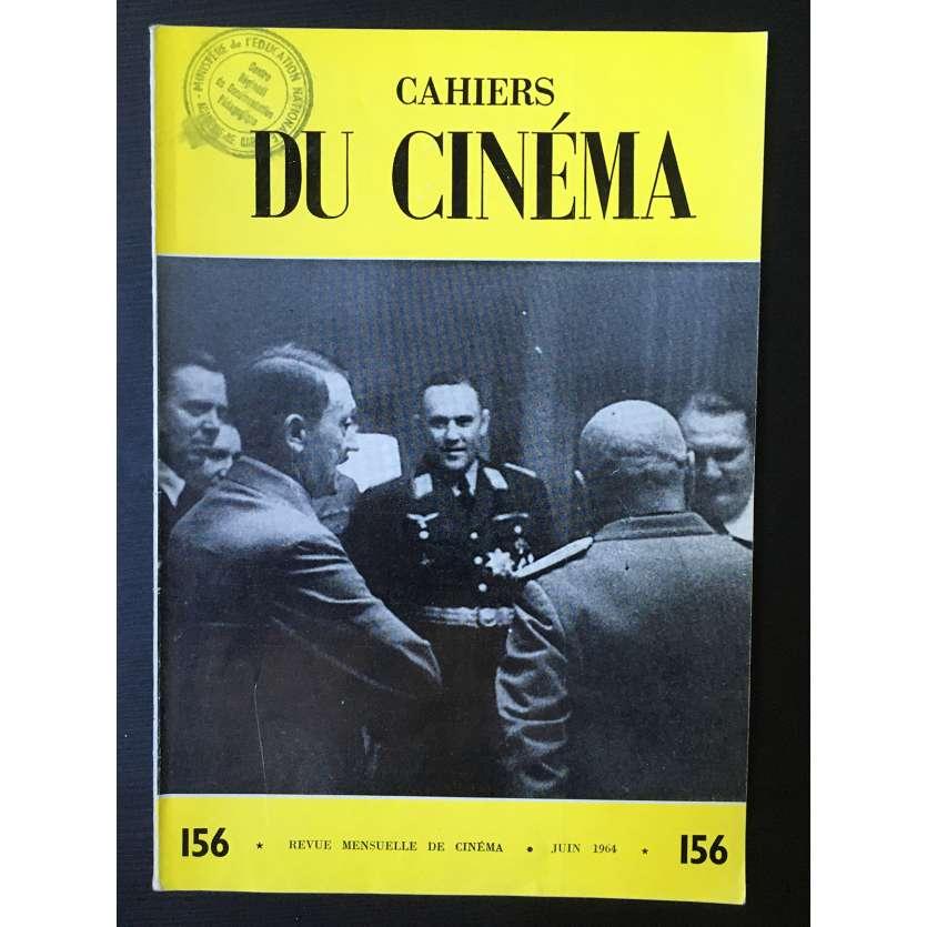 LES CAHIERS DU CINEMA Magazine N°156 - 1964 - Anna Karina