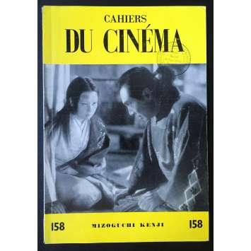 LES CAHIERS DU CINEMA Original Magazine N°158 - 1964 - Mizoguchi