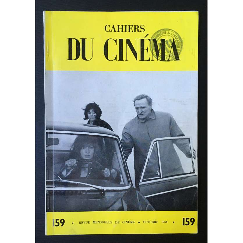 LES CAHIERS DU CINEMA Original Magazine N°159 - 1964 - Dreyer, Bergman