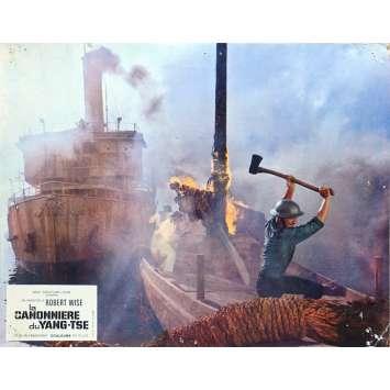LA CANONNIERE DU YANG-TSE Photo de film N02 - 21x30 cm. - 1966 - Steve McQueen, Robert Wise