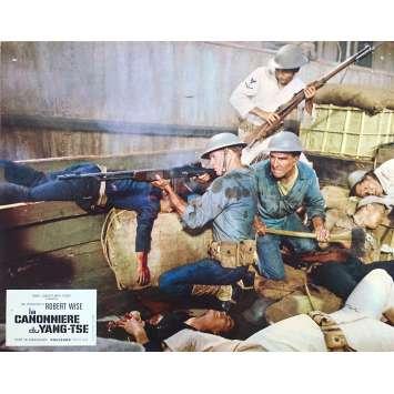 LA CANONNIERE DU YANG-TSE Photo de film N01 - 21x30 cm. - 1966 - Steve McQueen, Robert Wise