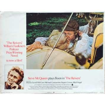 LES REIVERS Photo de film N01 - 28x36 cm. - 1969 - Steve McQueen, Mark Rydell