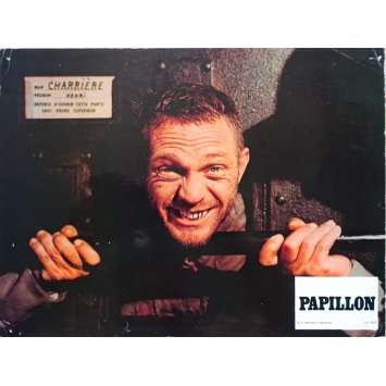 PAPILLON Photo de film N11 - 21x30 cm. - 1973 - Steve McQueen, Franklin J. Schaffner