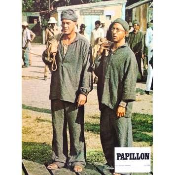 PAPILLON Photo de film N10 - 21x30 cm. - 1973 - Steve McQueen, Franklin J. Schaffner