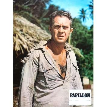 PAPILLON Photo de film N09 - 21x30 cm. - 1973 - Steve McQueen, Franklin J. Schaffner