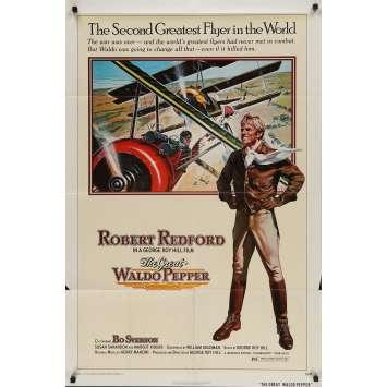 LA KERMESSE DES AIGLES Affiche de film - 69x104 cm. - 1975 - Robert Redford, George Roy Hill