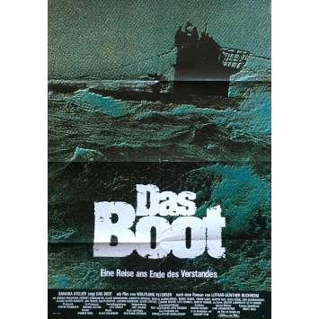 LE BATEAU Affiche de film - 59x84 cm. - 1981 - Jürgen Prochnov, Wolfgang Petersen