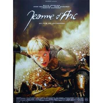 JOAN OF ARC Original Movie Poster - 15x21 in. - 1999 - Luc Besson, Milla Jovovich