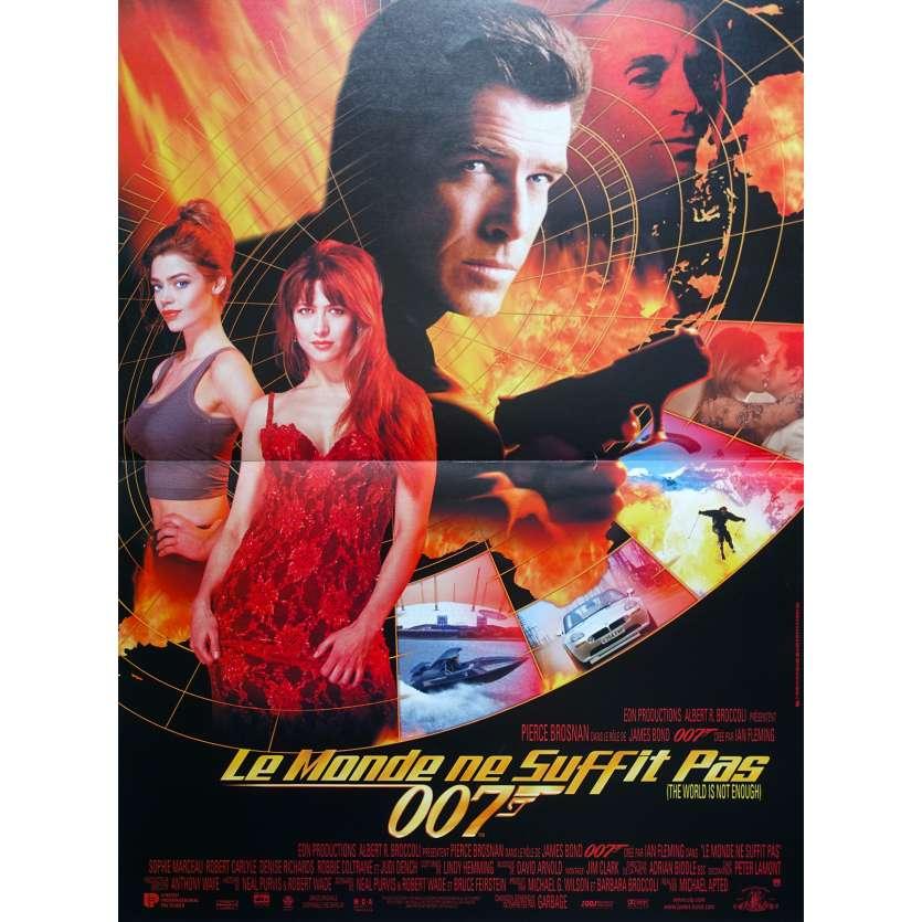 LE MONDE NE SUFFIT PAS Affiche de film - 40x60 cm. - 1999 - Pierce Brosnan, Michael Apted