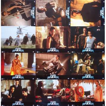 LARA CROFT TOMB RAIDER Photos de film - 21x30 cm. - 2001 - Angelina Jolie, Simon West