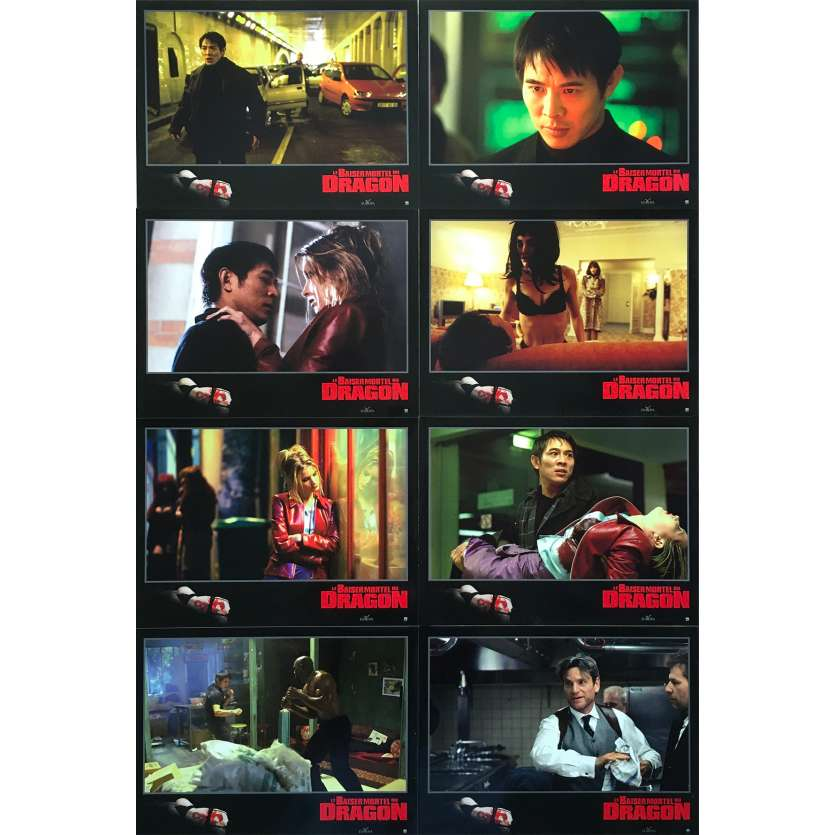 LE BAISER MORTEL DU DRAGON Photos de film - 21x30 cm. - 2001 - Jet Li, Chris Nahon