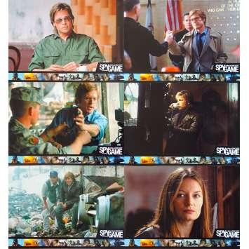 SPY GAME Photos de film - 21x30 cm. - 2001 - Robert Redford, Tony Scott