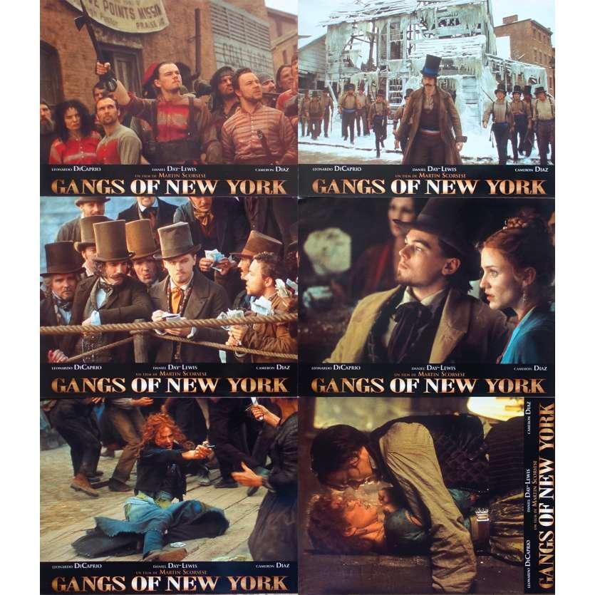 GANGS OF NEW YORK Photos de film - 21x30 cm. - 2002 - Leonardo DiCaprio, Daniel Day-Lewis, Martin Scorsese