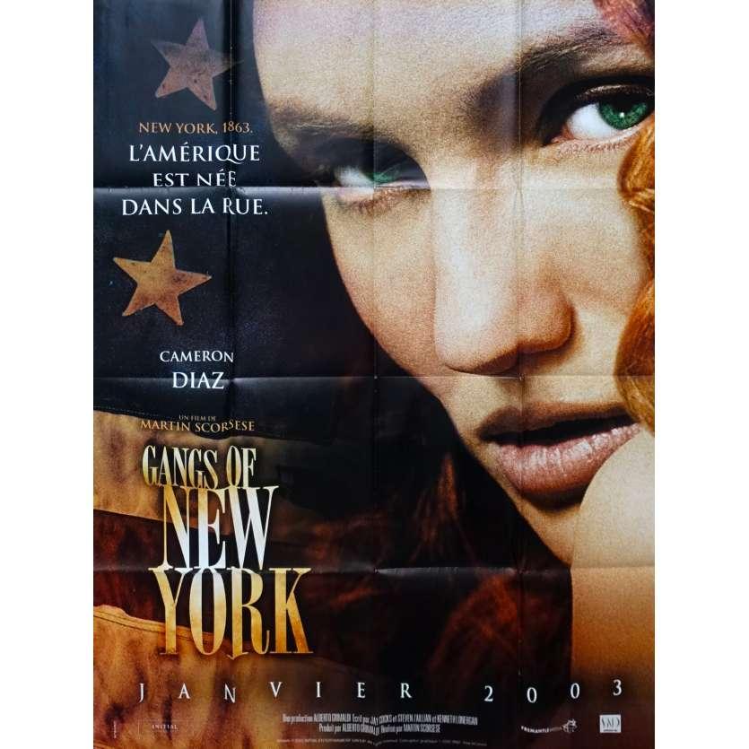 GANGS OF NEW YORK Affiche de film - 120x160 cm. - 2002 - Leonardo DiCaprio, Daniel Day-Lewis, Martin Scorsese