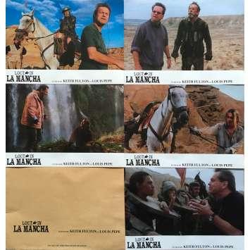 LOST IN LA MANCHA Photos de film - 21x30 cm. - 2002 - Jean Rochefort, Terry Gilliam