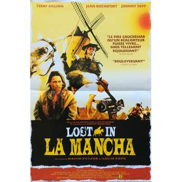 LOST IN LA MANCHA Affiche de film - 40x60 cm. - 2002 - Jean Rochefort, Terry Gilliam