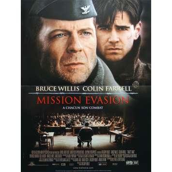 MISSION EVASION Affiche de film - 40x60 cm. - 2002 - Bruce Willis, Gregory Hoblit