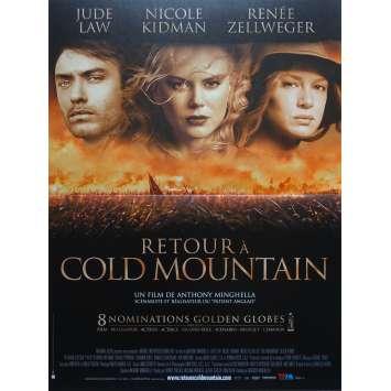 RETOUR A COLD MOUNTAIN Affiche de film - 40x60 cm. - 2003 - Jude Law, Nicole Kidman, Anthony Minghella
