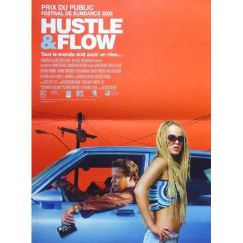 HUSTLE AND FLOW Affiche de film - 40x60 cm. - 2005 - Terrence Howard, Craig Brewer