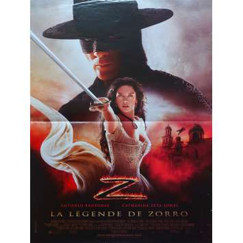 LA LEGENDE DE ZORRO Affiche de film - 40x60 cm. - 2005 - Antonio Banderas, Catherine Zeta-Jones, Martin Campbell