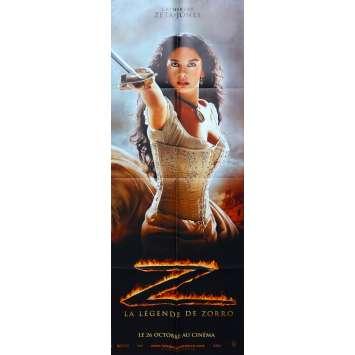LA LEGENDE DE ZORRO Affiche de film - 60x160 cm. - 2005 - Antonio Banderas, Catherine Zeta-Jones, Martin Campbell