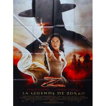 LA LEGENDE DE ZORRO Affiches de film - 120x160 cm. - 2005 - Antonio Banderas, Catherine Zeta-Jones, Martin Campbell