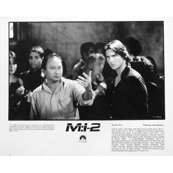 MISSION IMPOSSIBLE 2 MI2 Photo de presse N03 - 20x25 cm. - 2006 - Tom Cruise, John Woo