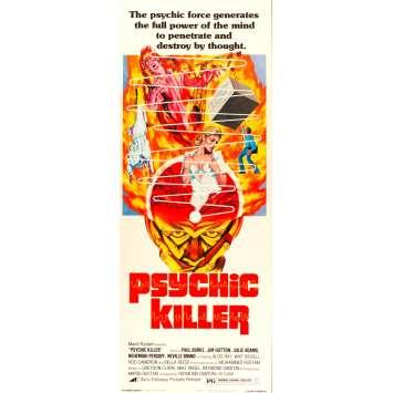 PSYCHIC KILLER Affiche du film - 36x91 cm