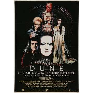 DUNE Spanish Movie Poster - 29x40 in. - 1982 - David Lynch, Kyle McLachlan