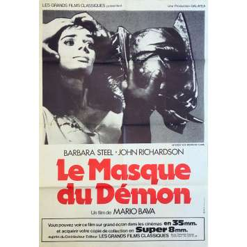 BLACK Sunday Original Movie Poster - 32x47 in. - 1960 - Mario Bava, Barbara Steele