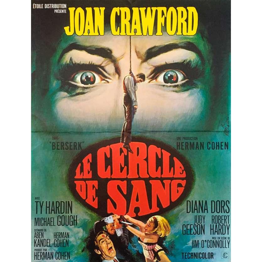 CERCLE DE SANG Affiche de film - 60x80 cm. - 1967 - Joan Crawford, Jim O'Connolly