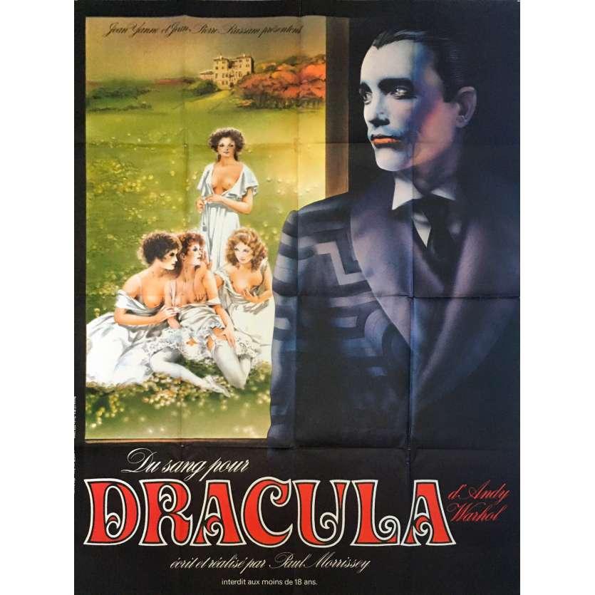 DU SANG POUR DRACULA Affiche de film - 120x160 cm. - 1974 - Joe Dallesandro, Paul Morrissey
