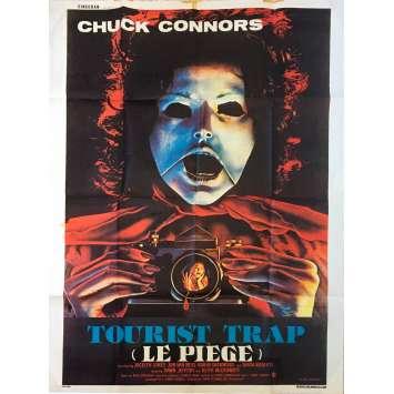 LE PIEGE : TOURIST TRAP Affiche de film - 120x160 cm. - 1979 - Chuck Connors, David Schmoeller