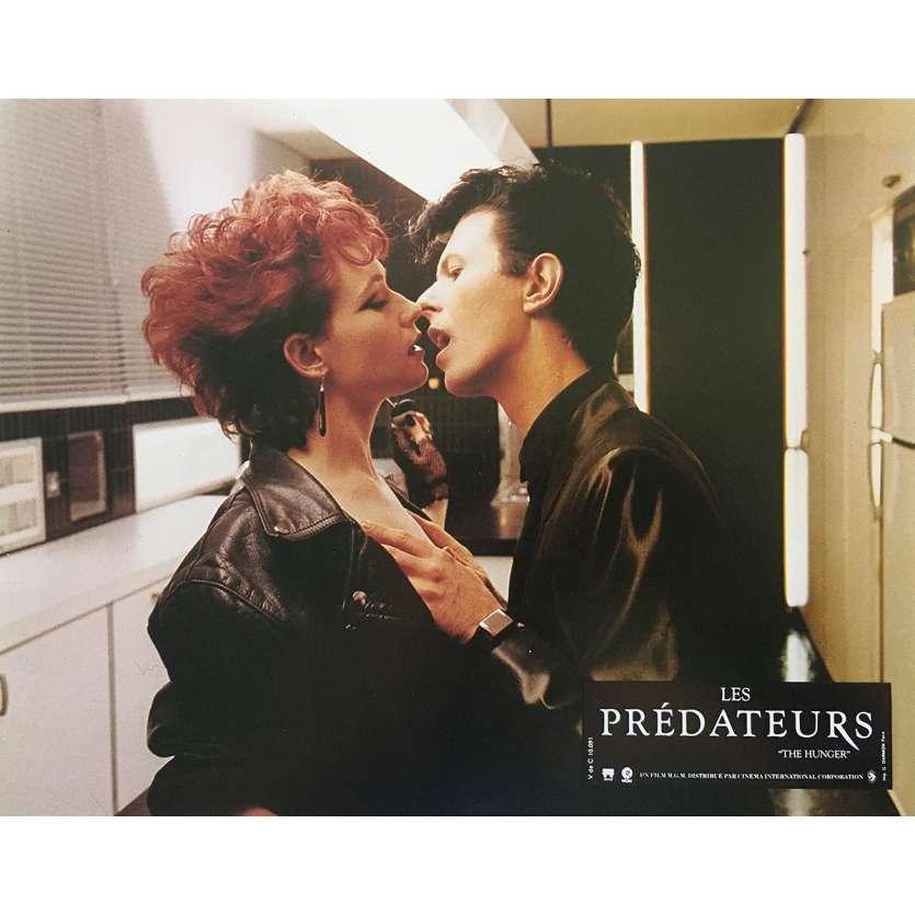 LES PREDATEURS Photo de film N05 - 21x30 cm. - 1983 - David Bowie, Tony Scott