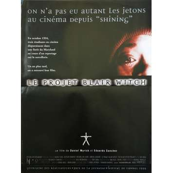 THE BLAIR WITCH PROJECT Original Movie Poster - 15x21 in. - 1999 - Daniel Myrick, Heather Donahue