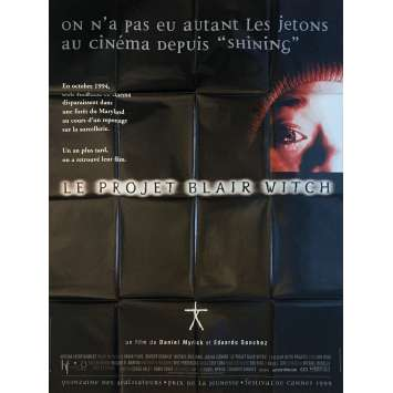 THE BLAIR WITCH PROJECT Original Movie Poster - 47x63 in. - 1999 - Daniel Myrick, Heather Donahue