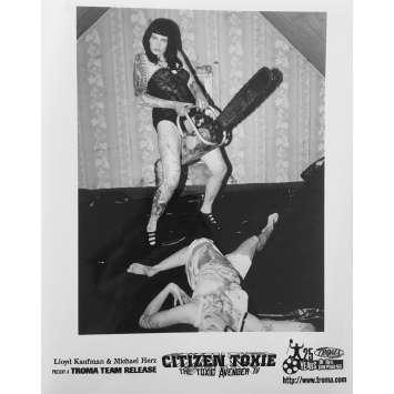 CITIZEN TOXIE : THE TOXIC AVENGERS IV Original Movie Still N09 - 8x10 in. - 2000 - Lloyd Kaufman, David Mattey