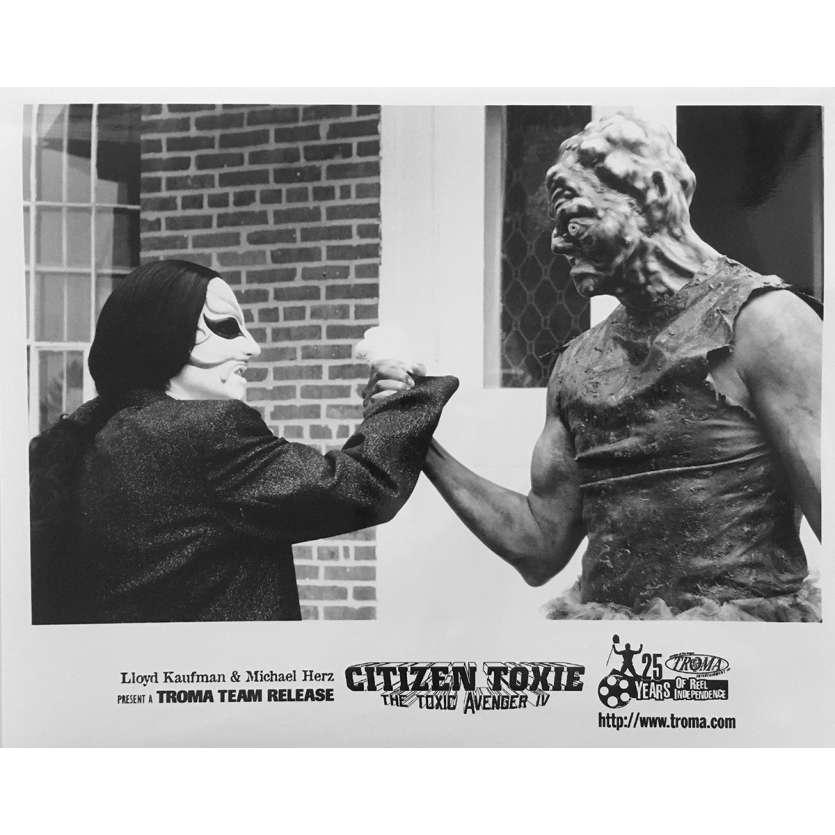 CITIZEN TOXIE : THE TOXIC AVENGERS IV Photo de presse N08 - 20x25 cm. - 2000 - David Mattey, Lloyd Kaufman