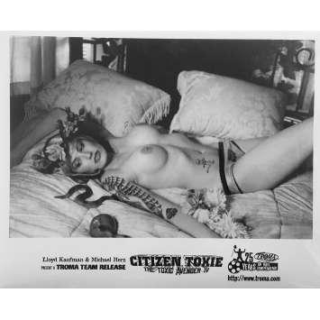 CITIZEN TOXIE : THE TOXIC AVENGERS IV Original Movie Still N06 - 8x10 in. - 2000 - Lloyd Kaufman, David Mattey