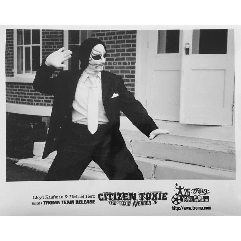 CITIZEN TOXIE : THE TOXIC AVENGERS IV Original Movie Still N05 - 8x10 in. - 2000 - Lloyd Kaufman, David Mattey