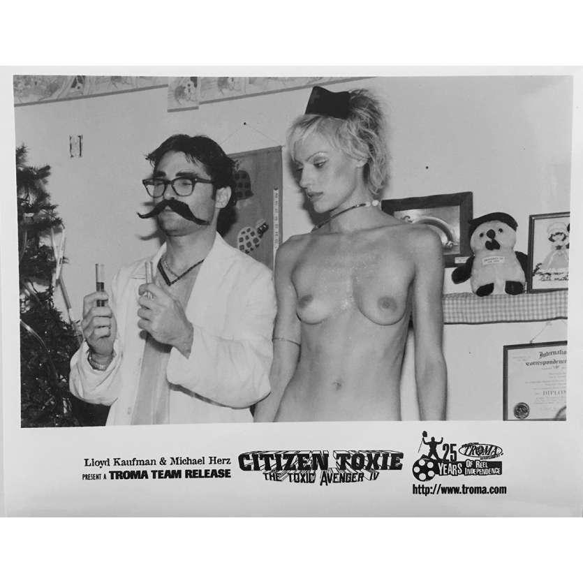 CITIZEN TOXIE : THE TOXIC AVENGERS IV Photo de presse N04 - 20x25 cm. - 2000 - David Mattey, Lloyd Kaufman