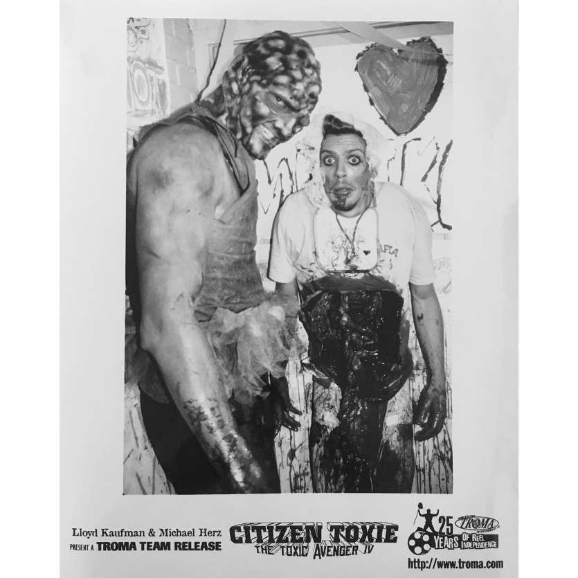 CITIZEN TOXIE : THE TOXIC AVENGERS IV Photo de presse N03 - 20x25 cm. - 2000 - David Mattey, Lloyd Kaufman