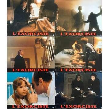 THE EXORCIST DIRECTOR'S CUT Original Lobby Cards x6 - 9x12 in. - 2001 - William Friedkin, Linda Blair