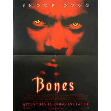 BONES Original Movie Poster - 15x21 in. - 2001 - Ernest R. Dickerson, Snoop Dogg