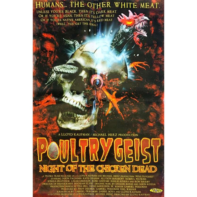 POULTRYGEIST : NIGHT OF THE CHICKEN DEAD Affiche de film - 69x102 cm. - 2006 - Jason Yachanin, Lloyd Kaufman