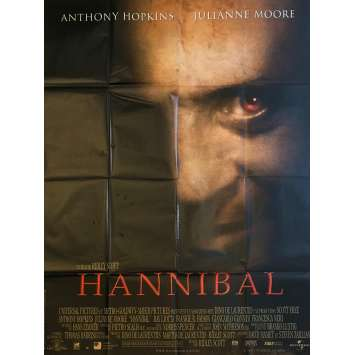 HANNIBAL Original Movie Poster - 47x63 in. - 2013 - Bryan Fuller, Mads Mikkelsen