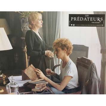 LES PREDATEURS Photo de film N01 - 21x30 cm. - 1983 - David Bowie, Tony Scott
