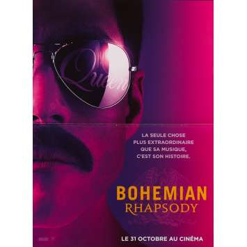 BOHEMIAN RHAPSODY Original Movie Poster - 15x21 in. - 2018 - Bryan Singer, Rami Malek
